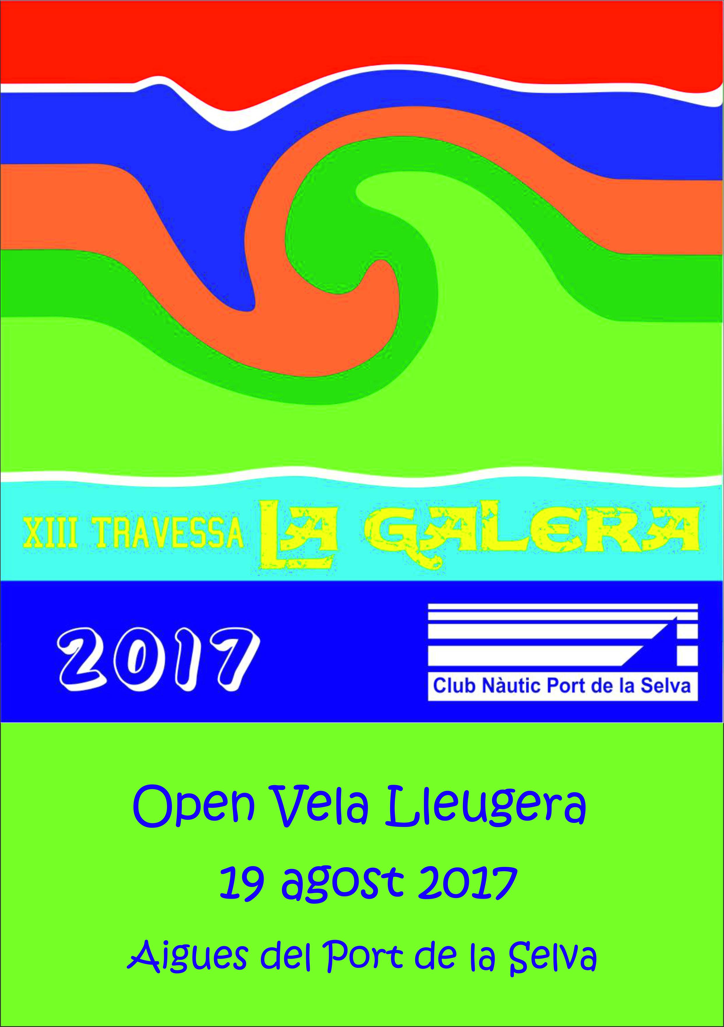 2017-REGATA LA GALERA-Cartell