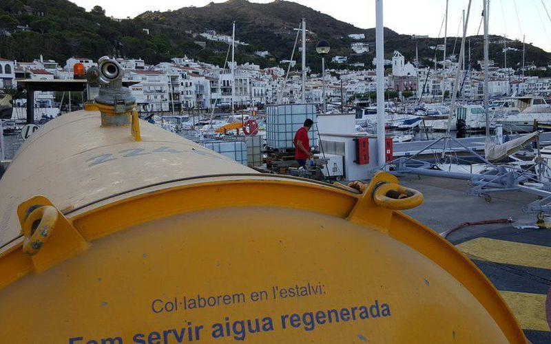 El Port de la Selva sequera i aigua regenerada al port