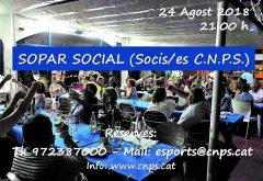 CNPS-sopar social
