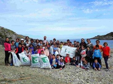 LET'S CLEAN UP EUROPE | Neteja espai natural (Cala Tamariua) Maig 2019