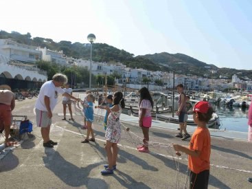 CASAL D'ESTIU CNPS | Taller pesca sostenible (Pescaplàstik)