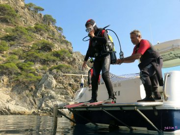 CURSOS DE BUSSEIG | Secc. Submarinisme Juliol i Agost 2016
